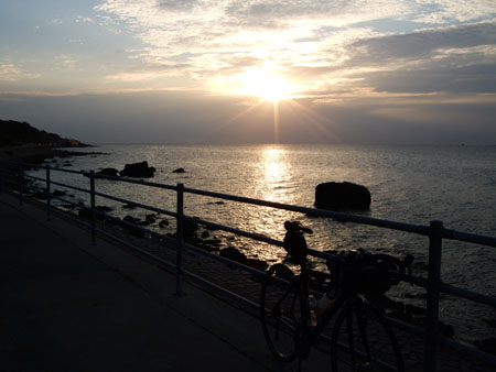 佐渡島 自転車 一周